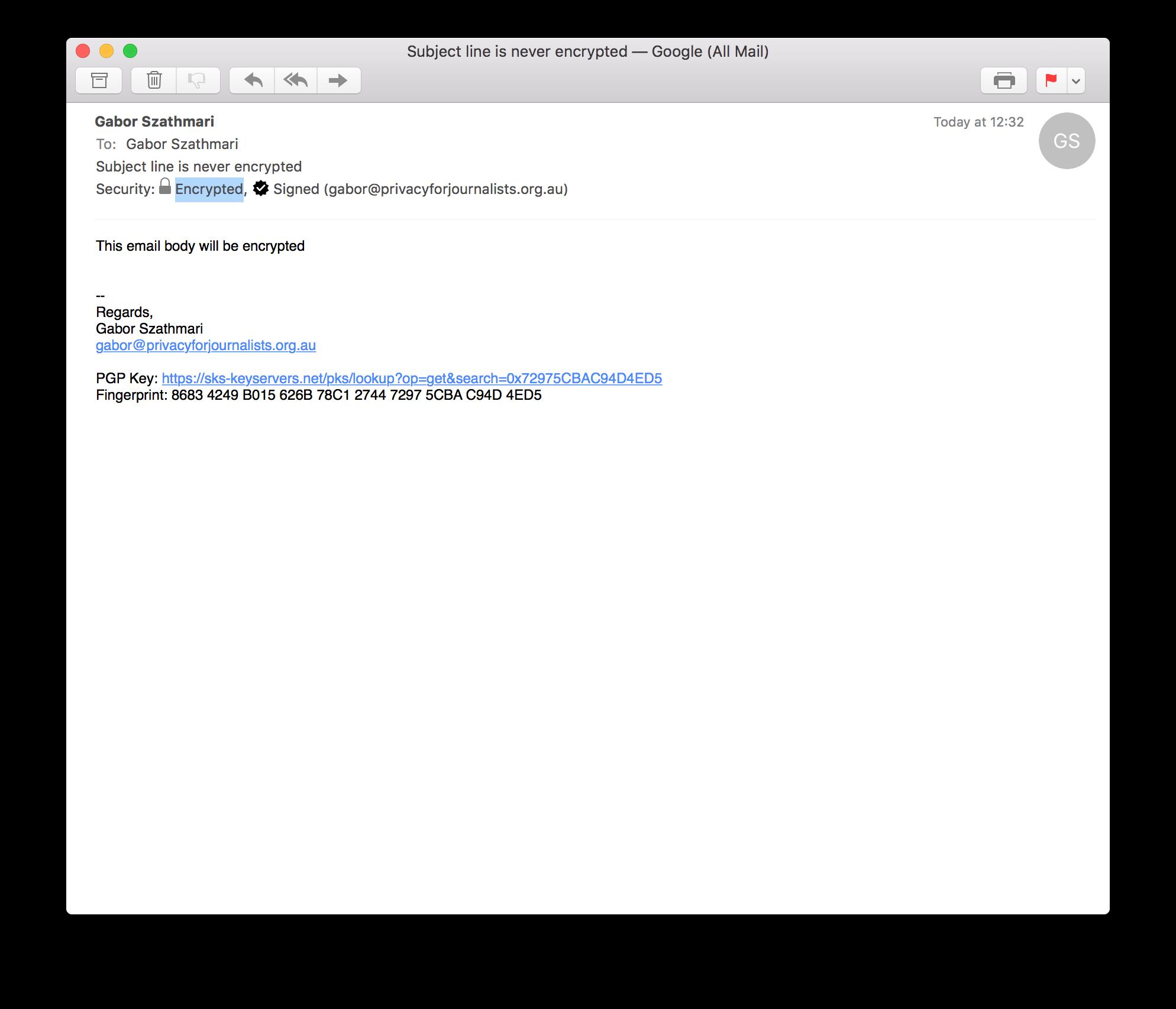 Email Recipient
